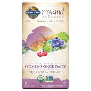 mykind Organics Women's Once Daily - 30 comprimidos