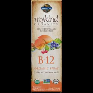 Витамин B12 mykind Organics в виде спрея 58 мл