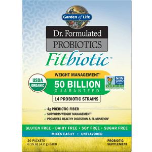 Microbiome Fitbiotic Powder - Unflavored (Pack of 20)
