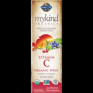 mykind Organics Vitamina C in spray - ciliegia e mandarino - 58ml