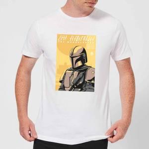 The Mandalorian Art Poster Men's T-Shirt - White