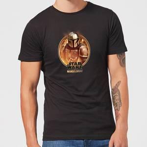 The Mandalorian Framed Men's T-Shirt - Black