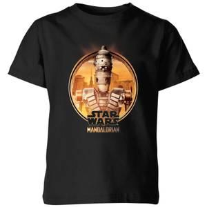 The Mandalorian IG 11 Framed Kids' T-Shirt - Black