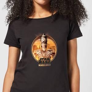 The Mandalorian IG 11 Framed Women's T-Shirt - Black