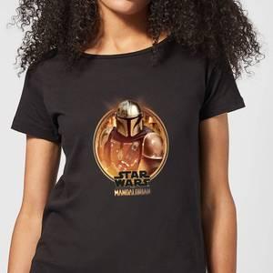 The Mandalorian Framed Women's T-Shirt - Black
