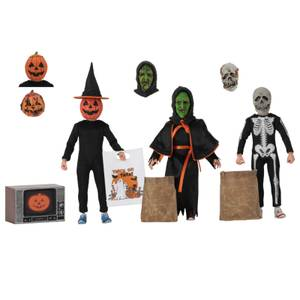 NECA Halloween 3: Season of the Witch - 8 Inch Scale Clothed Figure 3 Pack