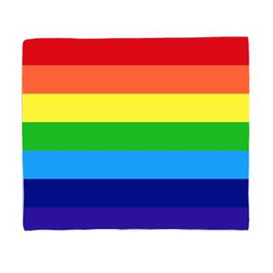 Rainbow Classic Rainbow Fleece Blanket