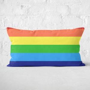 Rainbow Classic Rainbow Rectangular Cushion