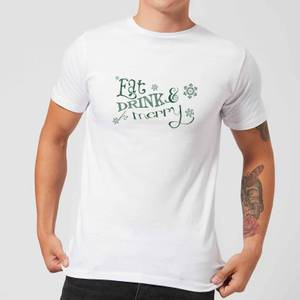 Eat and Drink Men's T-Shirt - White