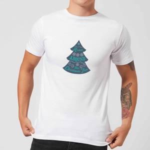 Christmas tree Men's T-Shirt - White