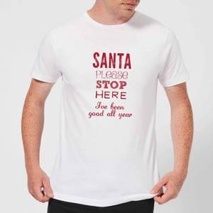 Please santa Men's T-Shirt - White