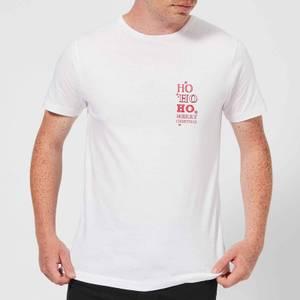 Ho Ho Ho Men's T-Shirt - White