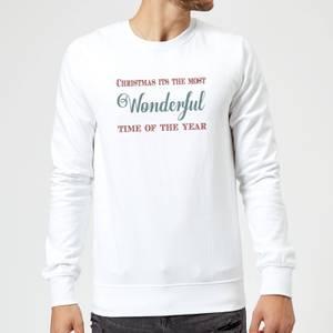 Wonderful Sweatshirt - White