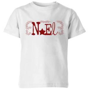 Noel Kids' T-Shirt - White
