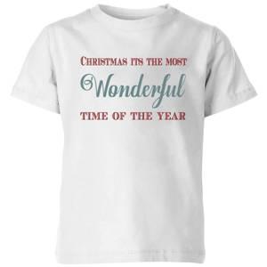 Wonderful Kids' T-Shirt - White