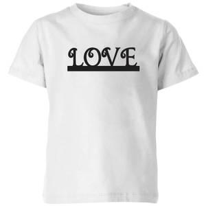 Love Kids' T-Shirt - White