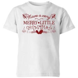 Very Merry Kids' T-Shirt - White