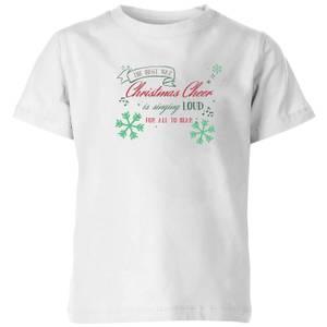 Sing loud Kids' T-Shirt - White