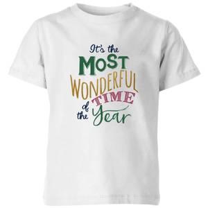 The most wonderful Kids' T-Shirt - White
