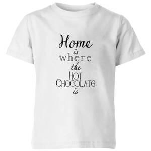 Hot Choc Kids' T-Shirt - White