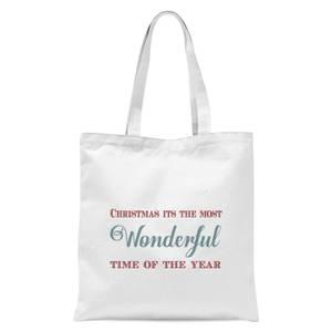 Wonderful Tote Bag - White