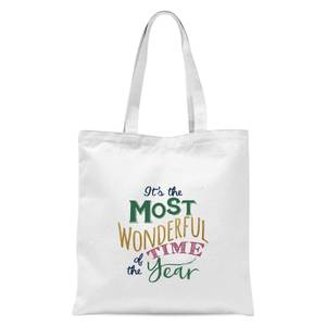 The most wonderful Tote Bag - White