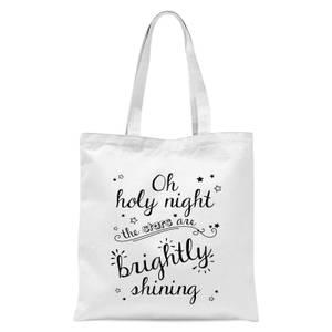 Holy Night Tote Bag - White