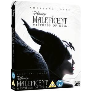 Maleficent 2: Mächte der Finsternis 3D (inkl. 2D Blu-ray) - Zavvi Exklusives Steelbook