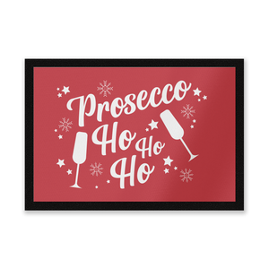 Prosecco Ho Ho Ho Door Mat Entrance Mat
