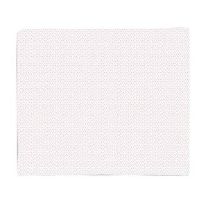 White Star Pattern Fleece Blanket