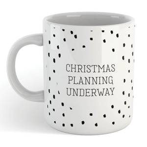 Christmas Planning Underway Mug
