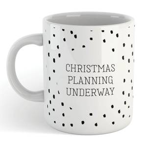 Christmas Planning Underway Mug