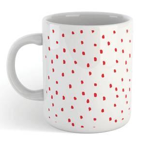 Red Polka Dot Mug
