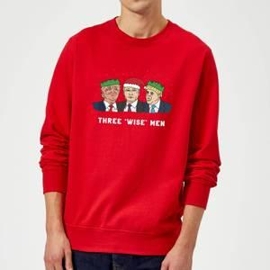 Three 'Wise' Men Sweatshirt - Red
