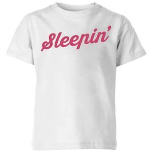 Sleepin Kids' T-Shirt - White