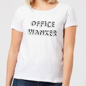 Office Wanker Women's T-Shirt - White