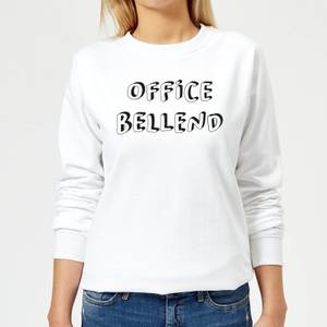 Office Bellend Women's Sweatshirt - White