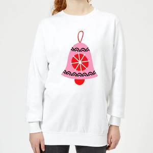 Bell Women's Sweatshirt - White