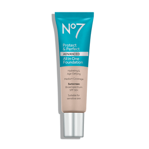 No7 Protect and Perfect ADVANCED All in One Foundation 30ml (Various Sheets)