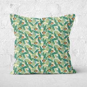 Green Jurassic Park Square Cushion 40x40cm