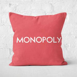 Monopoly Go Square Cushion