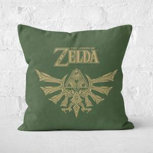 Zelda Square Cushion