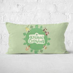 Animal Crossing Rectangular Cushion