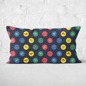 Twister Black Rectangular Cushion