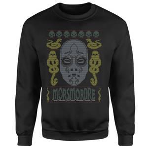 Morsmordre Christmas Sweatshirt - Black