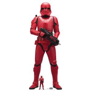 Star Wars (L'Ascension de Skywalker) - Soldat Sith - Découpe en carton à taille réelle