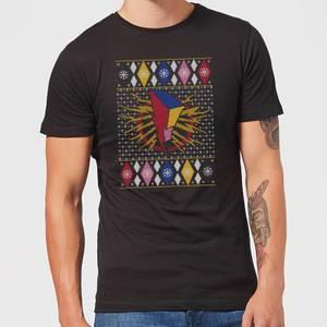Power Rangers Men's Christmas T-Shirt - Black