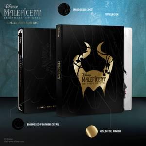 Exclusivité Zavvi : Édition Collector - Maléfique : Le Pouvoir du Mal - Steelbook 3D (Blu-ray 2D Inclus)