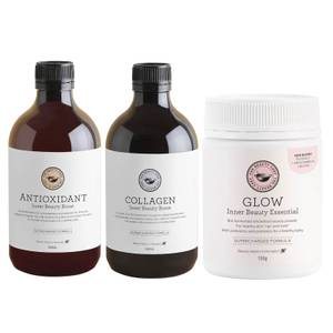 The Beauty Chef Glow, Collagen and Antioxidant Trio (Worth $166.00)