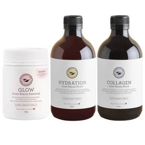 The Beauty Chef Glow, Collagen and Hydration Trio (Worth $166.00)